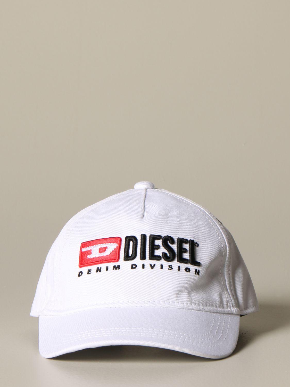 Cappello bambino Diesel: Cappello Diesel con logo bianco 2