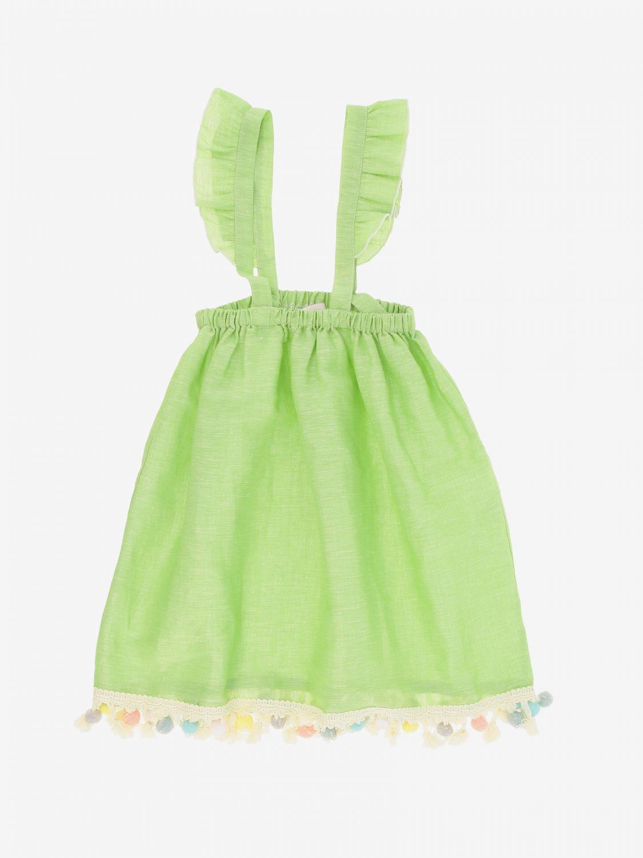 Skirt kids Mariuccia Milano green 1