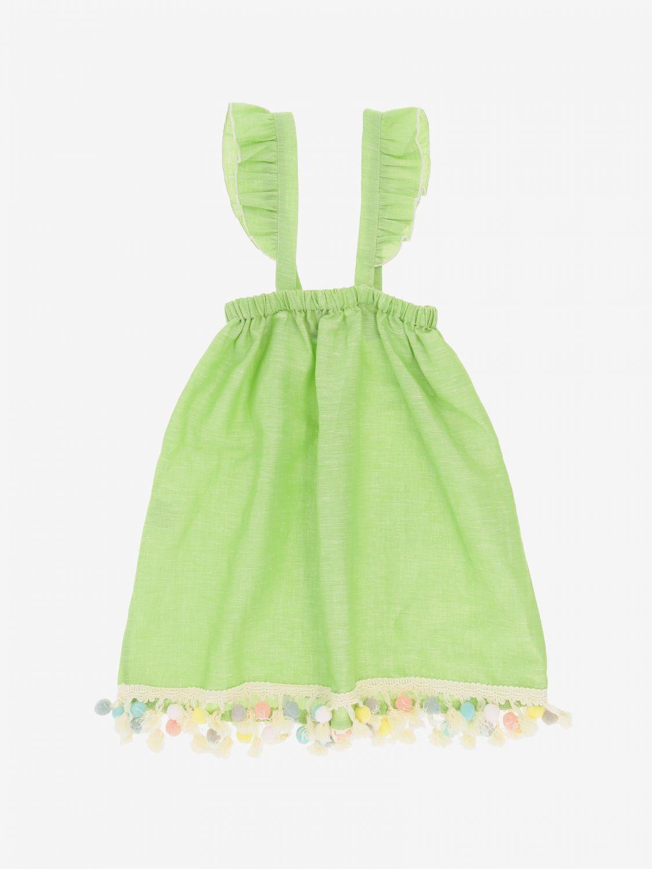 Skirt kids Mariuccia Milano green 2
