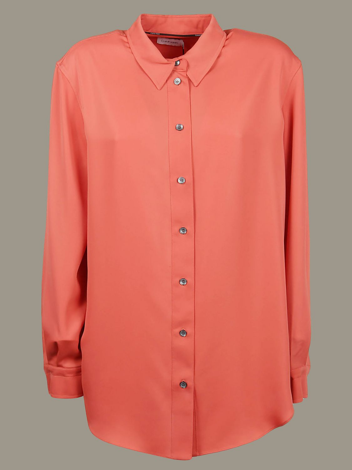 Shirt Calvin Klein: Shirt women Calvin Klein orange 1
