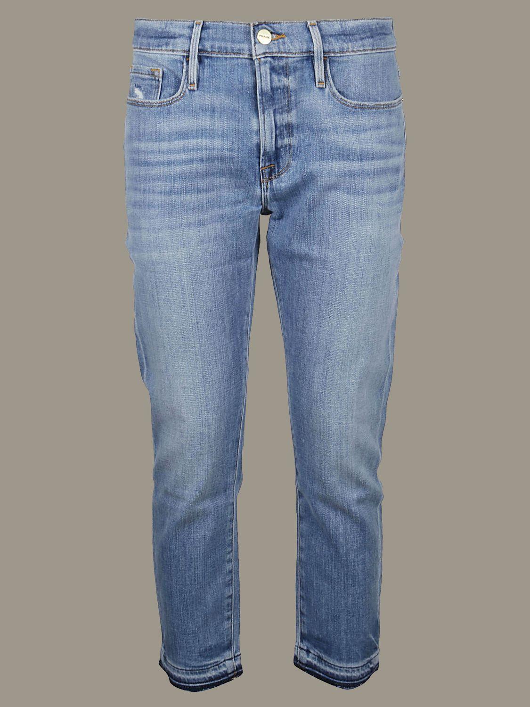 牛仔裤 Frame: 牛仔裤 女士 Frame 牛仔布 1