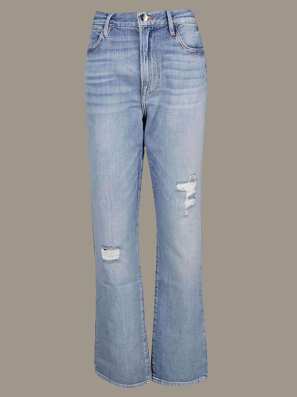 牛仔裤 女士 Frame 牛仔布 1