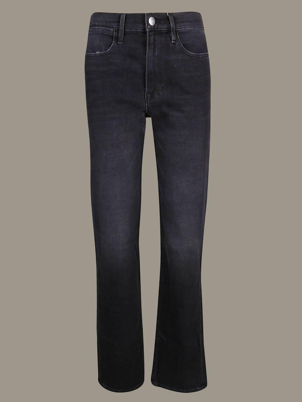牛仔裤 女士 Frame 黑色 1