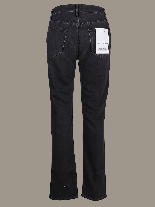 牛仔裤 女士 Frame 黑色 2