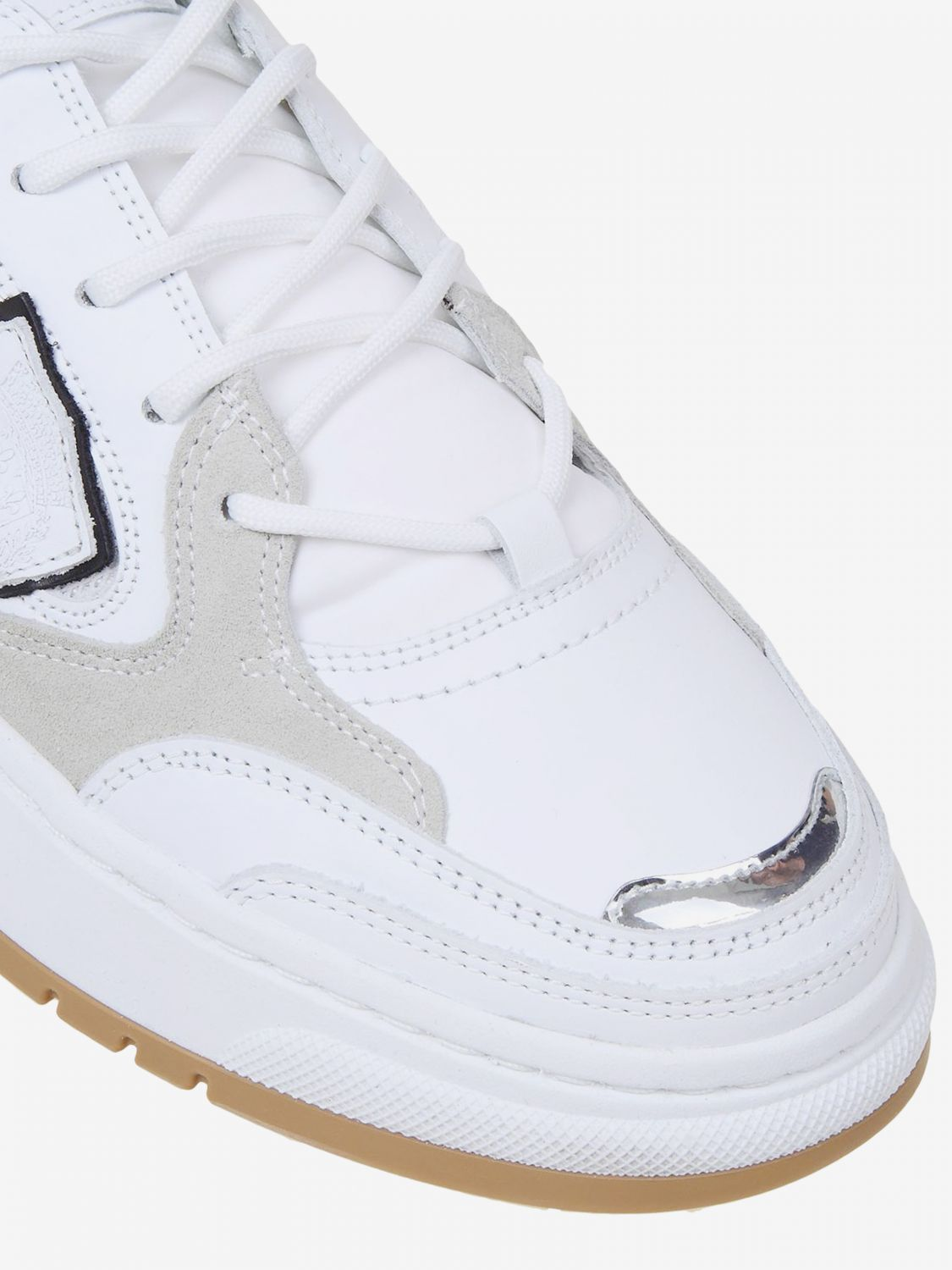 Baskets homme Philippe Model blanc 3