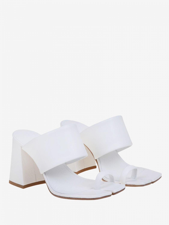 Chaussures à talons Maison Margiela: Chaussures femme Maison Margiela blanc 2