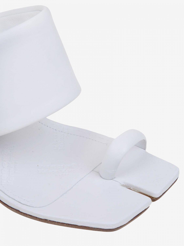 Chaussures à talons Maison Margiela: Chaussures femme Maison Margiela blanc 3