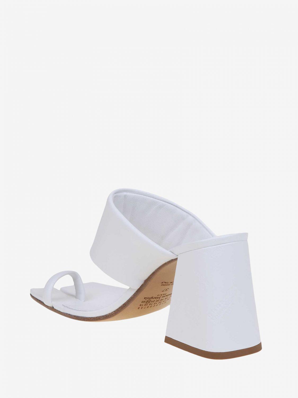 Chaussures à talons Maison Margiela: Chaussures femme Maison Margiela blanc 4