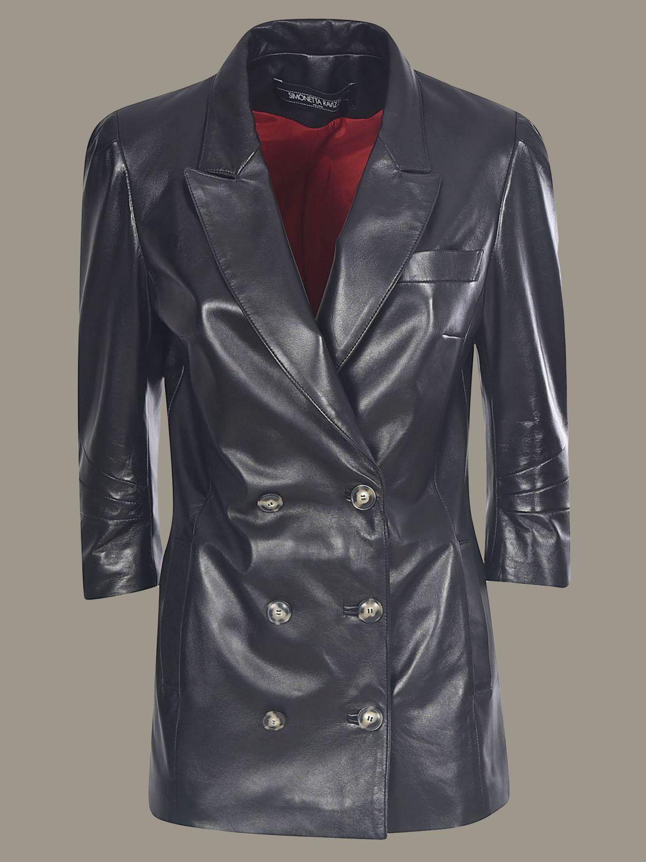 Jacket Simonetta Ravizza: Jacket women Simonetta Ravizza black 1