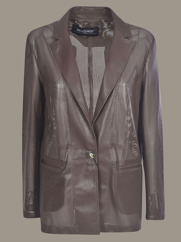 Jacket Simonetta Ravizza: Jacket women Simonetta Ravizza brown 1