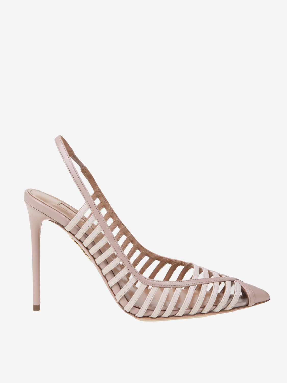 High heel shoes Aquazzura: High heel shoes women Aquazzura nude 1