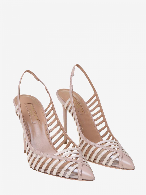 High heel shoes Aquazzura: High heel shoes women Aquazzura nude 2