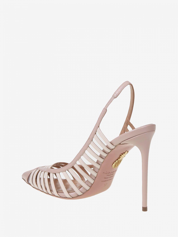 High heel shoes Aquazzura: High heel shoes women Aquazzura nude 4