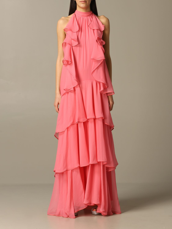 Платье Alberta Ferretti: Платье Женское Alberta Ferretti розовый 1
