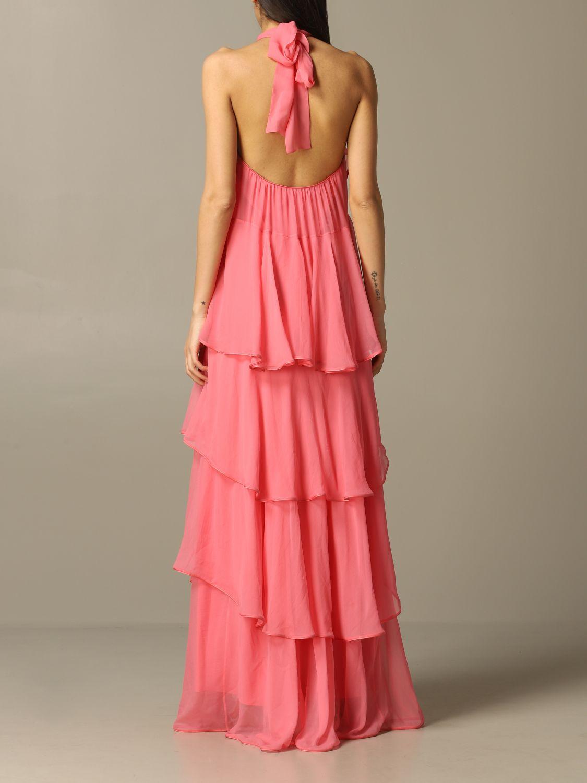 Платье Alberta Ferretti: Платье Женское Alberta Ferretti розовый 2