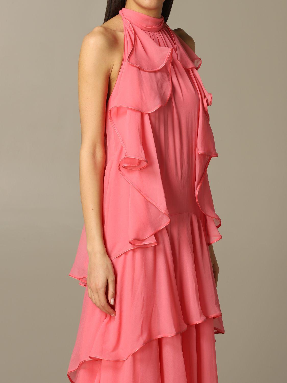 Платье Alberta Ferretti: Платье Женское Alberta Ferretti розовый 3