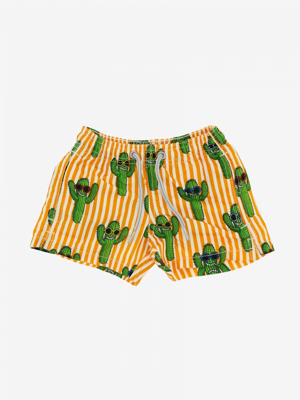 Swimsuit kids Mc2 Saint Barth orange 1