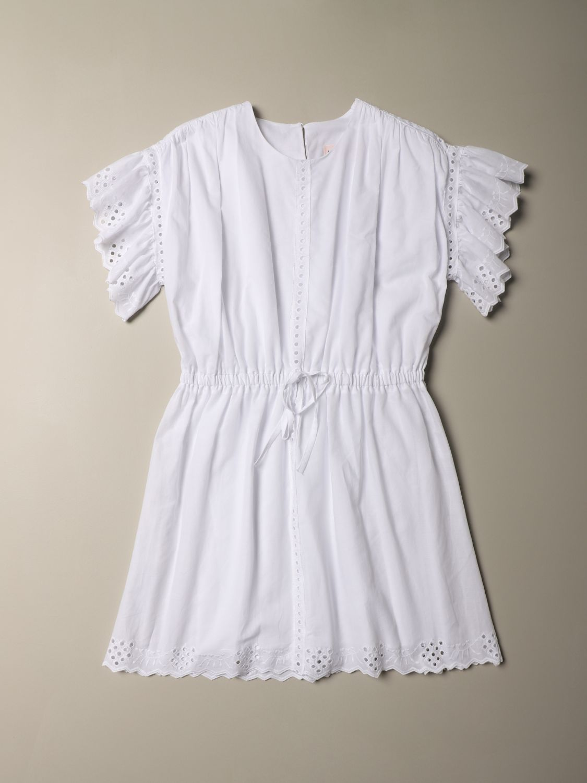 连衣裙 Alberta Ferretti Junior: 连衣裙 儿童 Alberta Ferretti Junior 白色 1