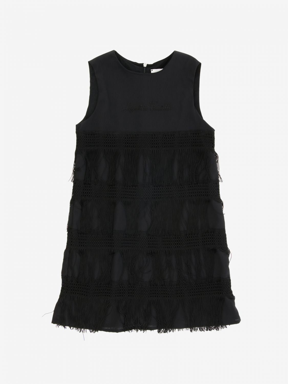 Dress Alberta Ferretti Junior: Dress kids Alberta Ferretti Junior black 1
