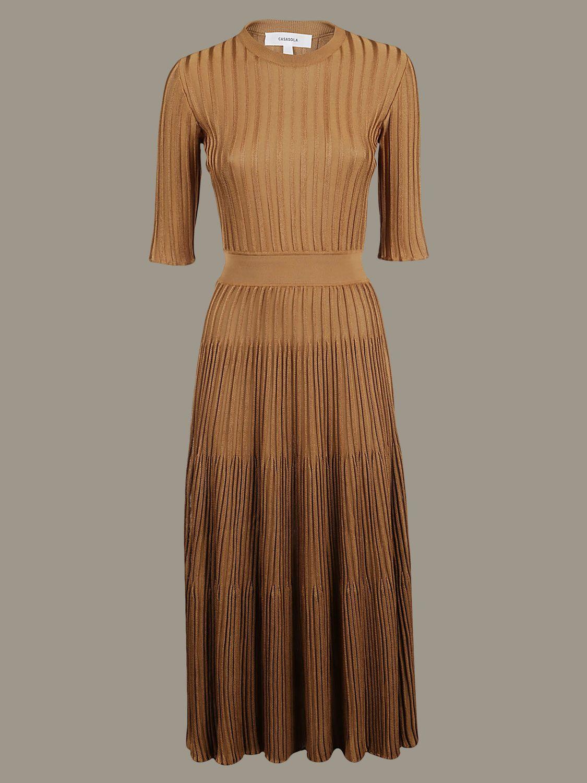 Dress Casasola: Dress women Casasola copper red 1