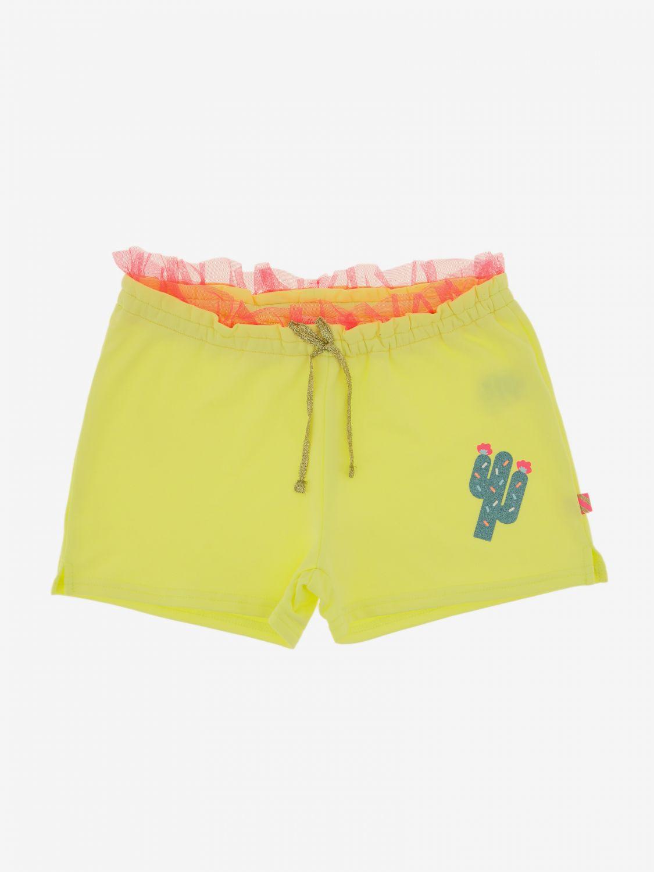 Pantalones cortos Billieblush: Pantalones cortos niños Billieblush azul claro 1