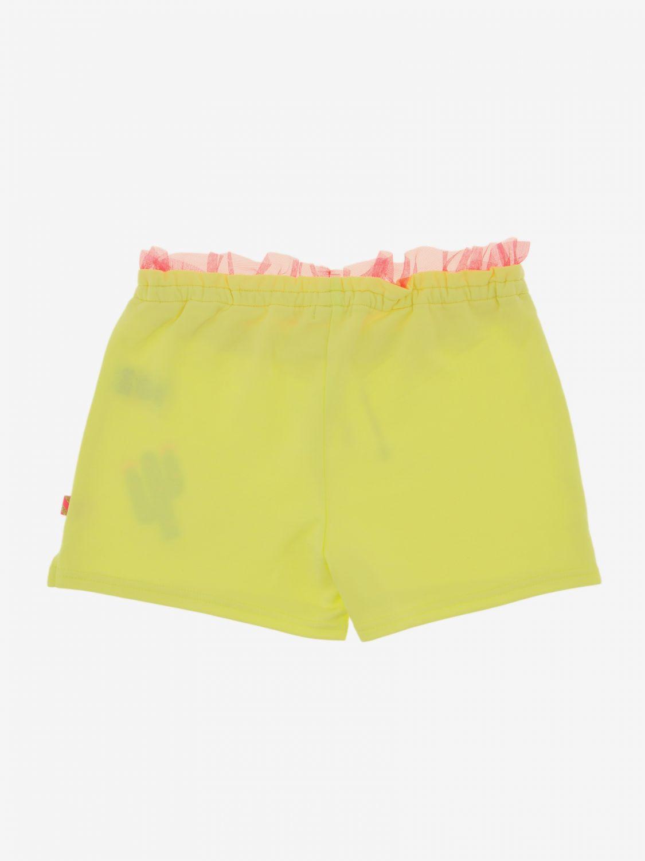 Pantalones cortos Billieblush: Pantalones cortos niños Billieblush azul claro 2
