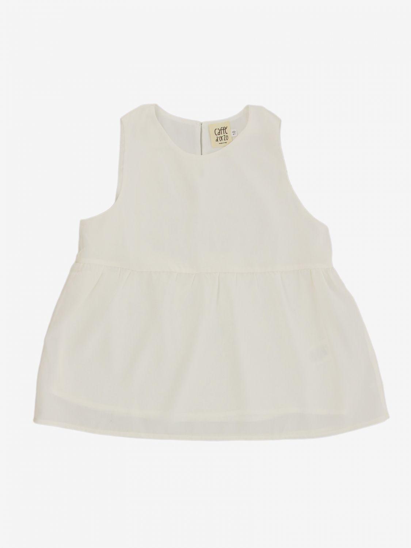 T-shirt Caffe' D'orzo: T-shirt bambino Caffe' D'orzo bianco 1