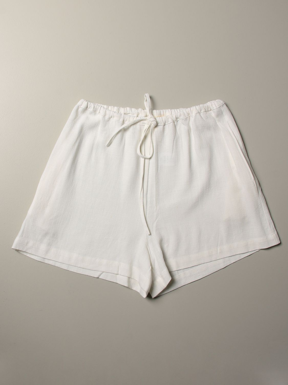 Pantalones cortos Caffe' D'orzo: Pantalones cortos niños Caffe' D'orzo blanco 1