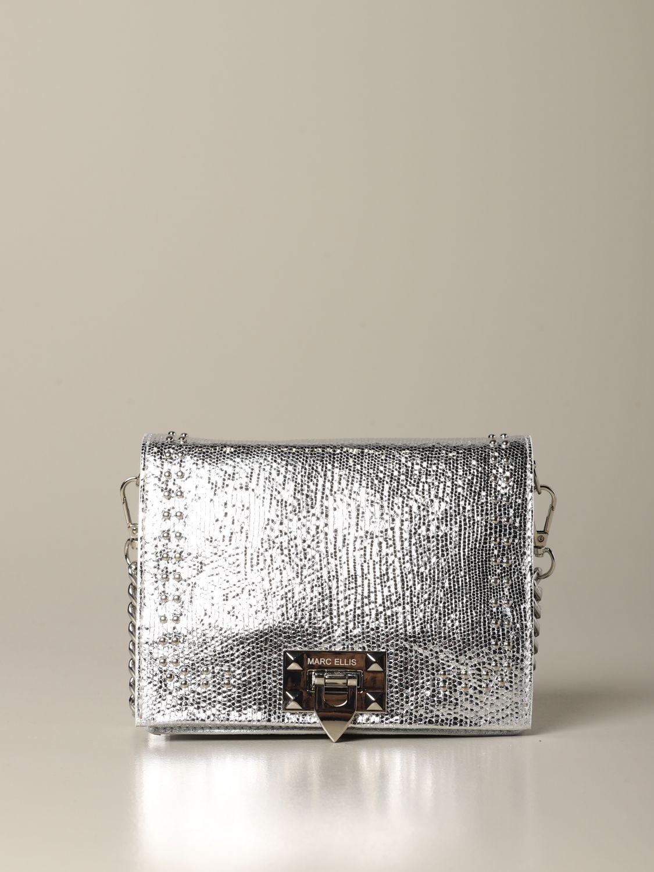 Shoulder bag women Marc Ellis silver 1