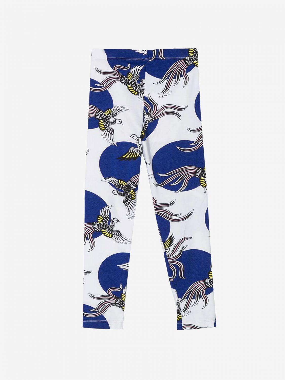 裤子 Kenzo Junior: Kenzo Junior 印花裤子 白色 1