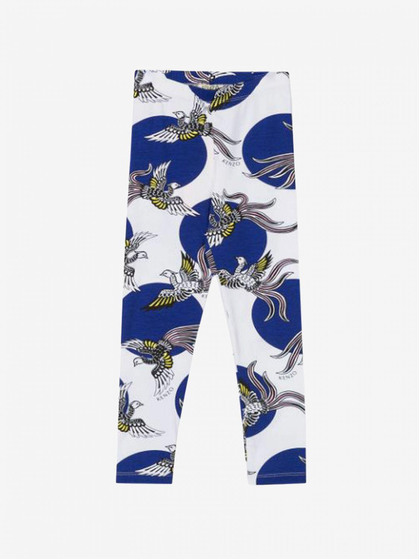 裤子 Kenzo Junior: Kenzo Junior 印花裤子 白色 2