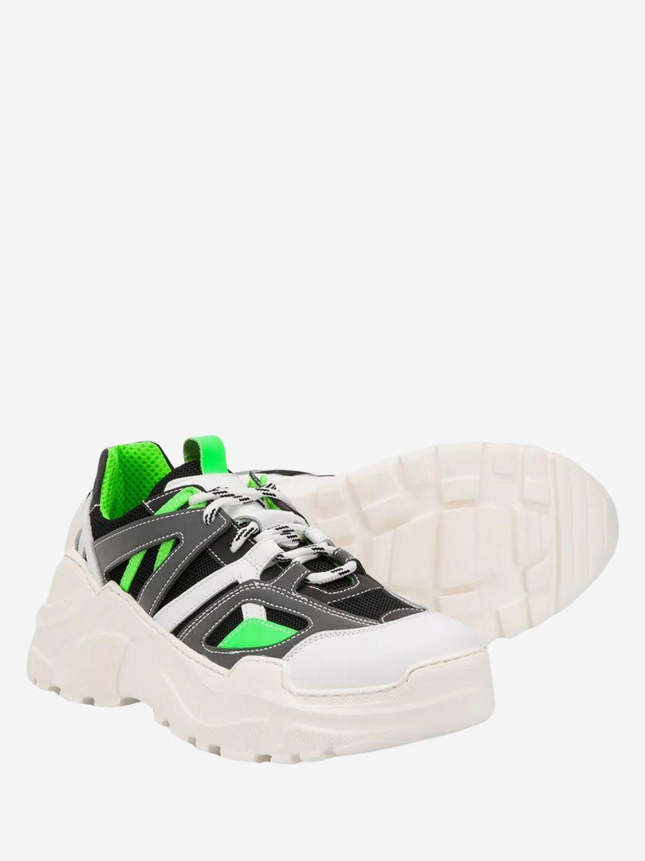 Shoes Cinzia Araia: Cinzia Araia sneakers in leather and mesh white 1