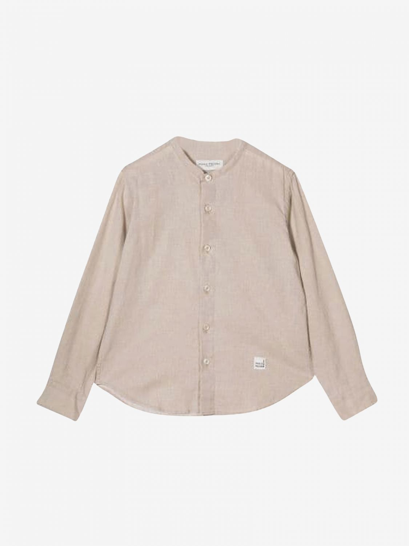 Рубашка Paolo Pecora: Рубашка Детское Paolo Pecora бежевый 1