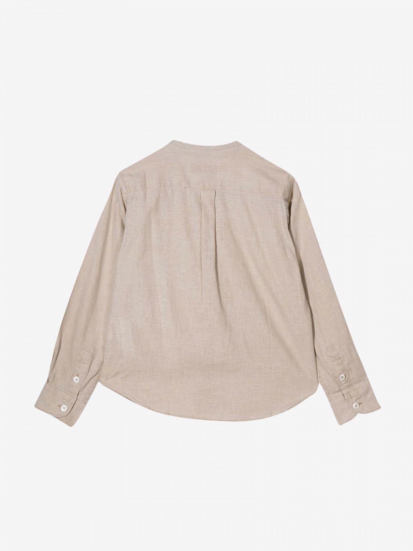 Рубашка Paolo Pecora: Рубашка Детское Paolo Pecora бежевый 2