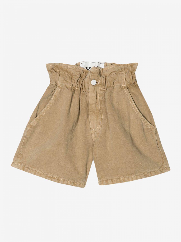 Pantaloncino Dondup: Pantaloncino Dondup a vita alta rosa 1