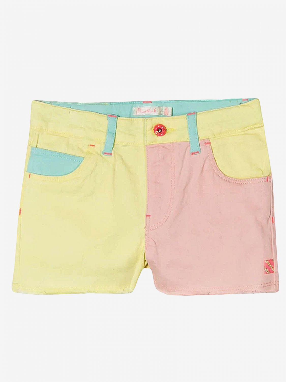 Pantaloncino Billieblush: Pantaloncino Billieblush con effetto tricolor fantasia 1