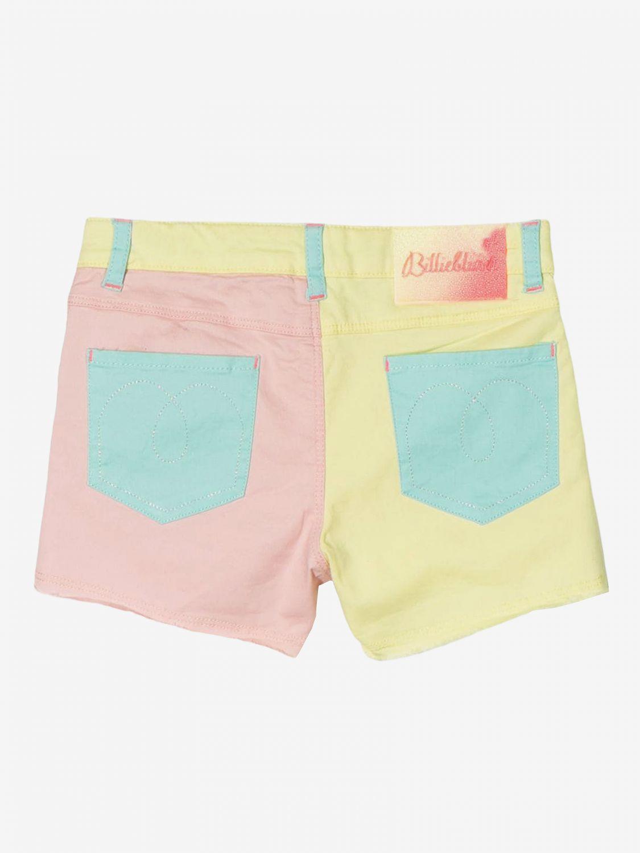 Pantaloncino Billieblush: Pantaloncino Billieblush con effetto tricolor fantasia 2