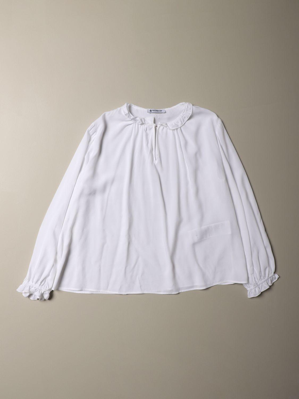 Camicia Dondup: Camicia Dondup a maniche lunghe bianco 1