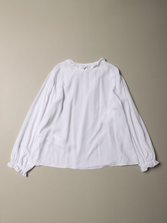 Camicia Dondup: Camicia Dondup a maniche lunghe bianco 2