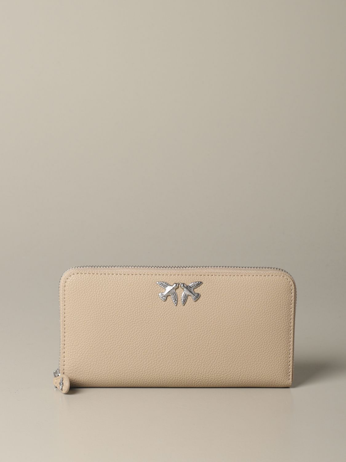 Wallet women Pinko beige 1