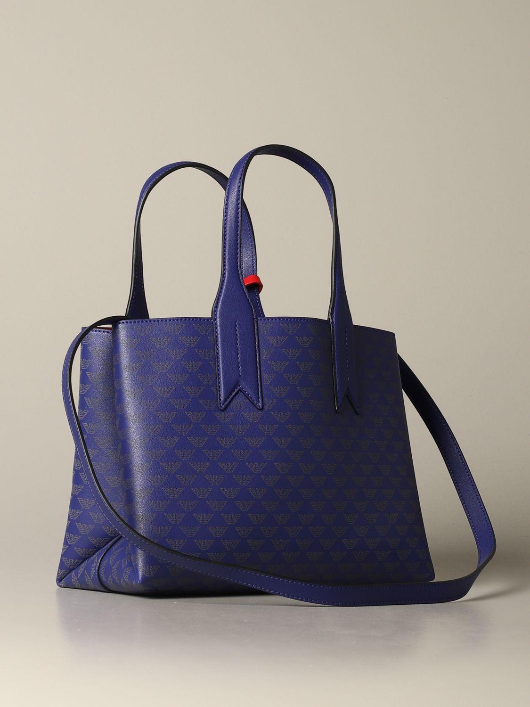 Shoulder bag women Emporio Armani blue 2