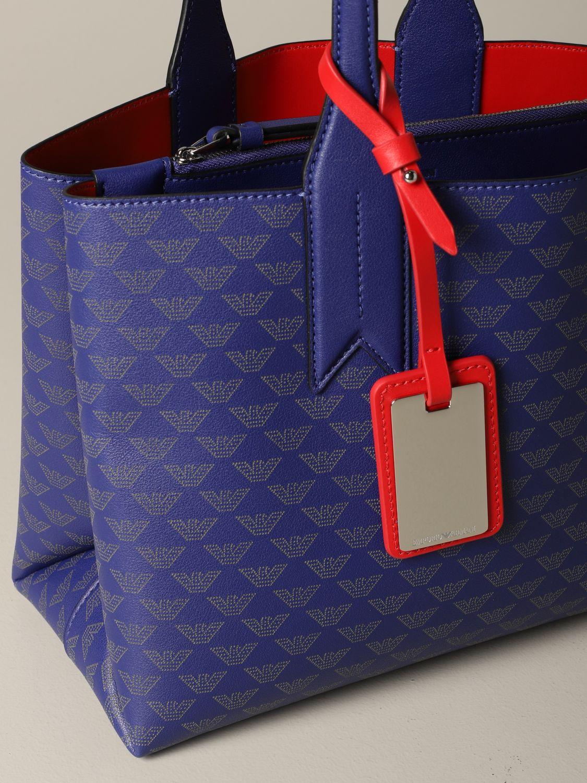 Shoulder bag women Emporio Armani blue 3