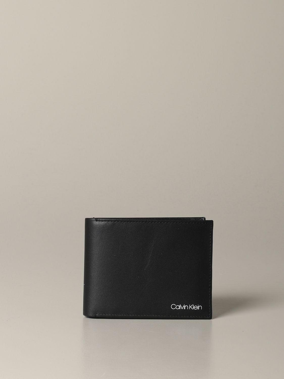 钱包 男士 Calvin Klein 黑色 1