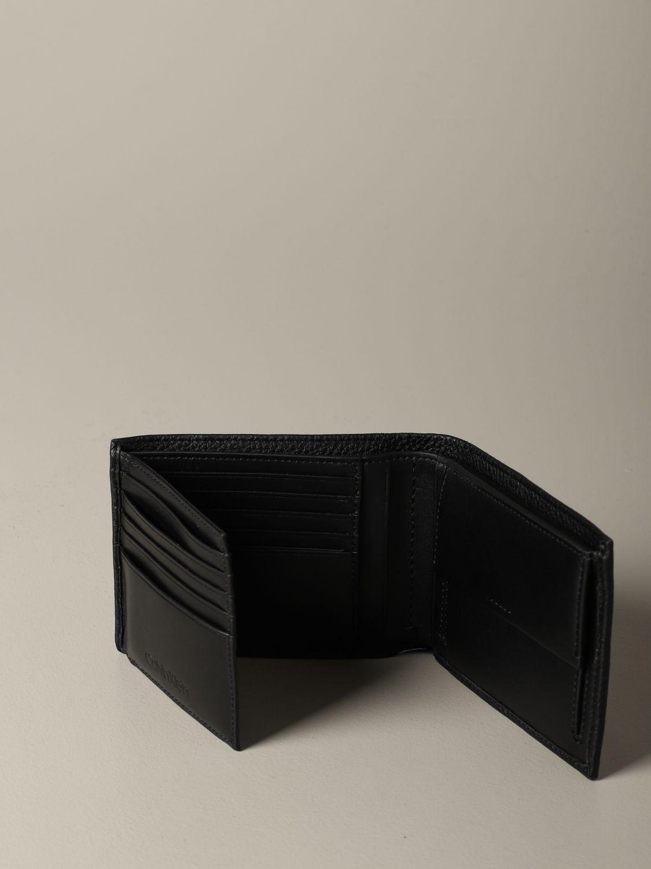 Portefeuille homme Calvin Klein noir 4