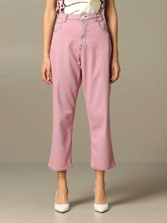牛仔裤 女士 Love Moschino 粉色 1