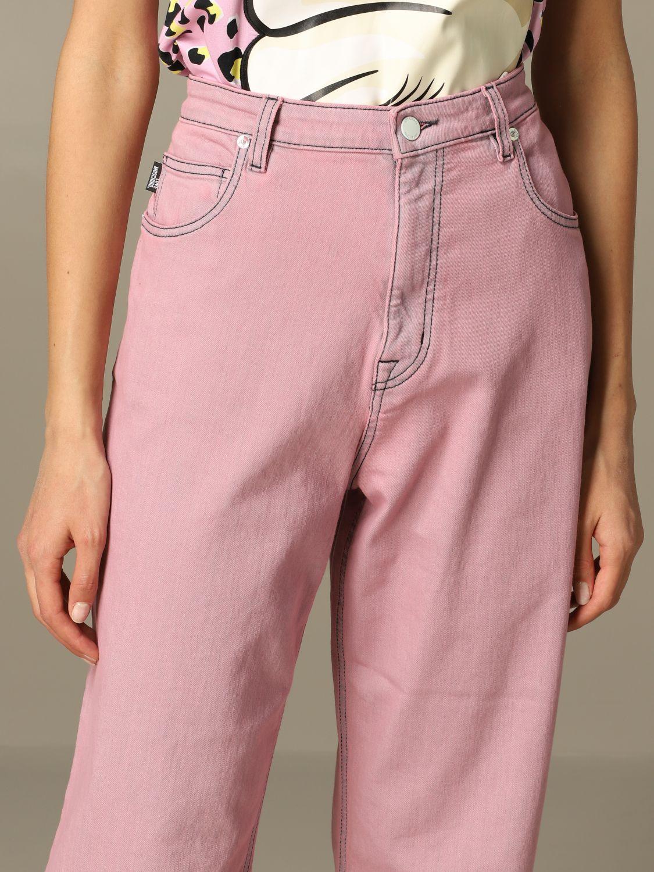 牛仔裤 女士 Love Moschino 粉色 3