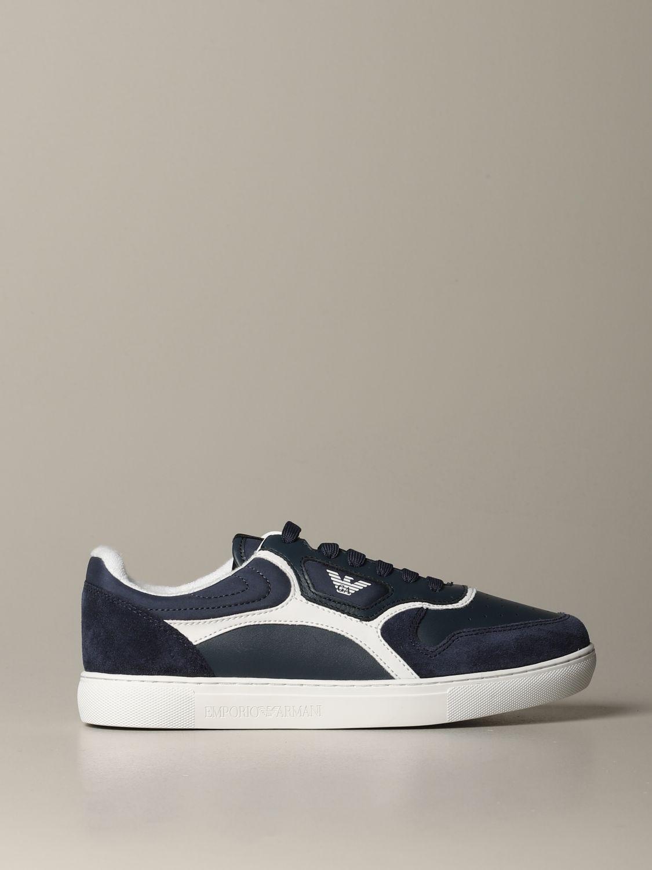 Sneakers Emporio Armani: Sneakers men Emporio Armani blue 1