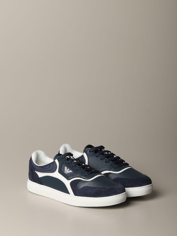 Sneakers Emporio Armani: Sneakers men Emporio Armani blue 2