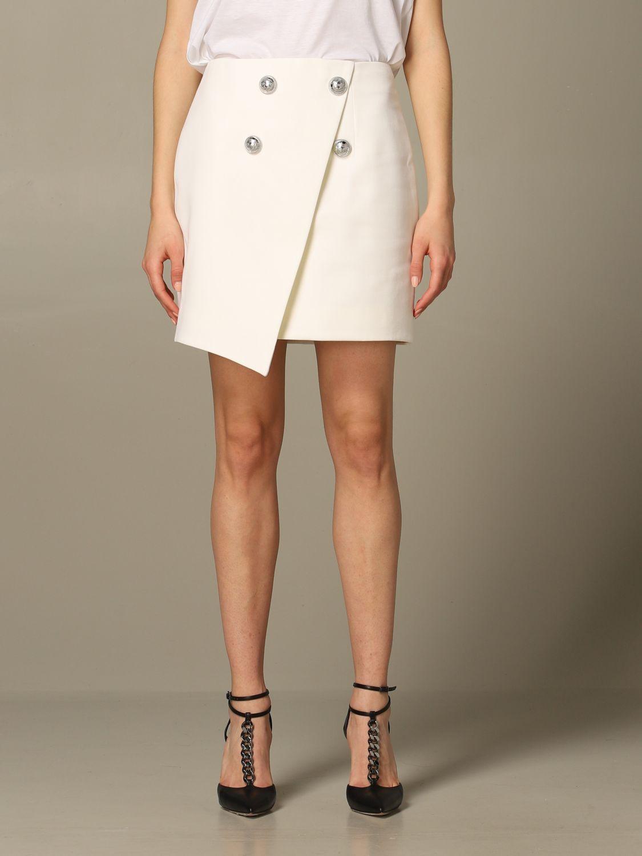Skirt Balmain: Skirt women Balmain white 1