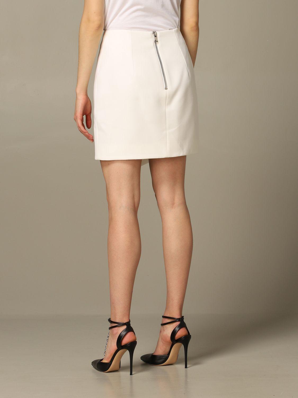 Skirt Balmain: Skirt women Balmain white 2